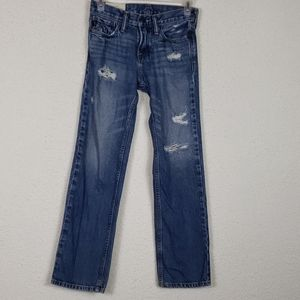 Boys Abercrombie size 12 distressed jeans